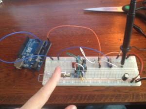 Homemade ECG machine using infrared – N1QQ