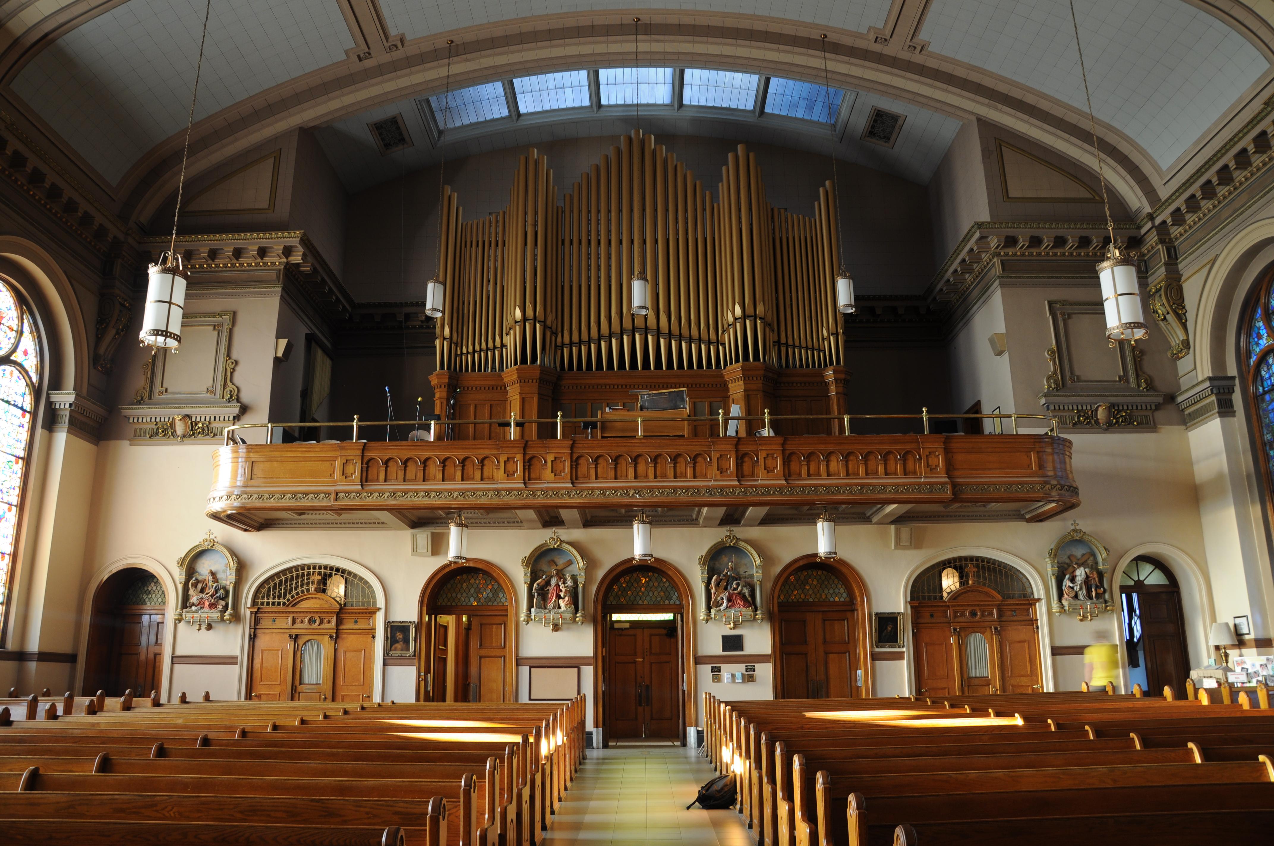 St. Aloysius Pipe Organ – N1QQ